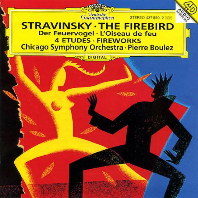 Stravinsky: The Firebird,, Etc / Boulez, Chicago So