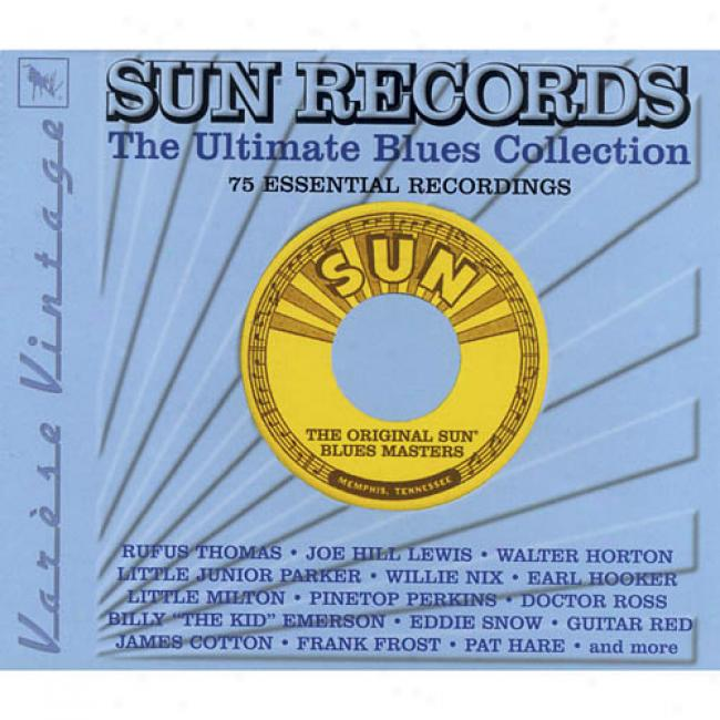 Sun Records: The Ultimate Blues Collection (3cd) (remaster)