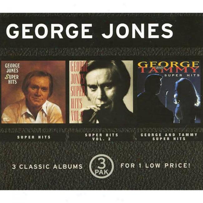 Super Hits/super Hits, Vol.2/george And Tammy Super Hits