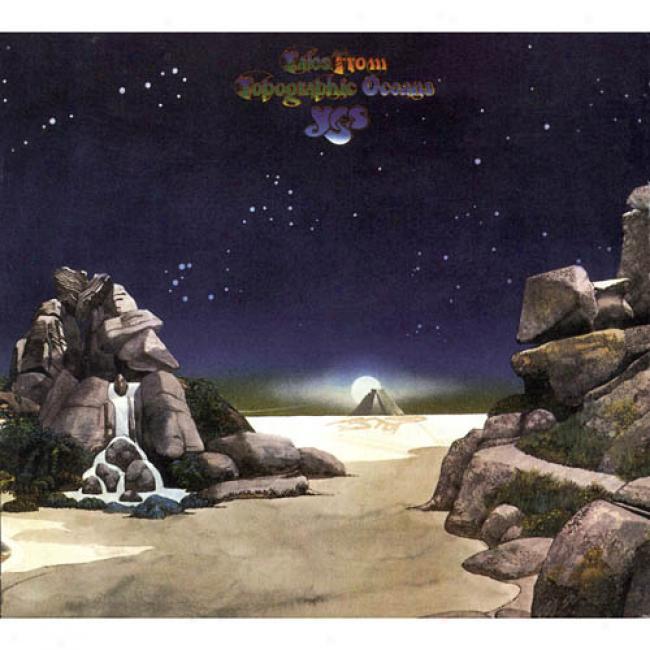 Tales Frkm Topographic Oceans (2cd) (digi-pak) (cd Slipcase) (remaster)
