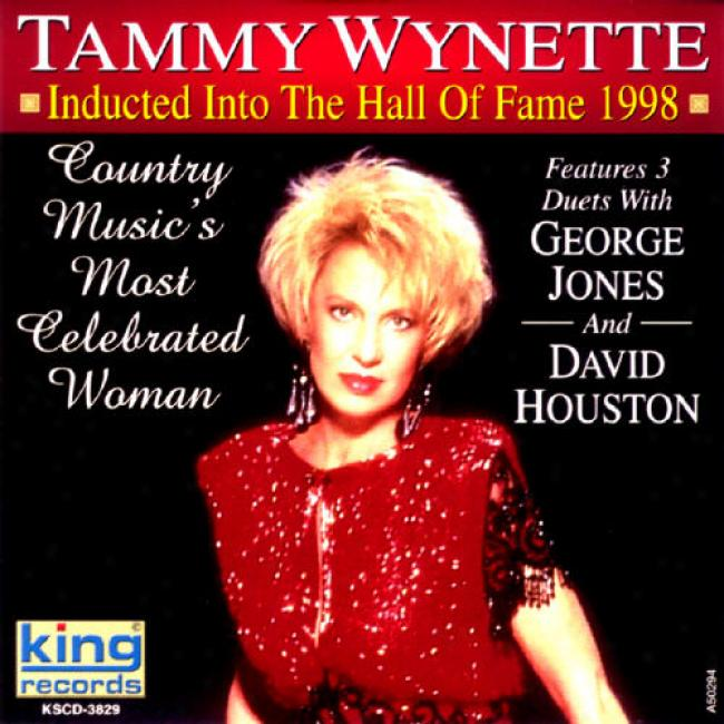 Tammy Wynette: Inducted Into The Large room Of Fame 1998
