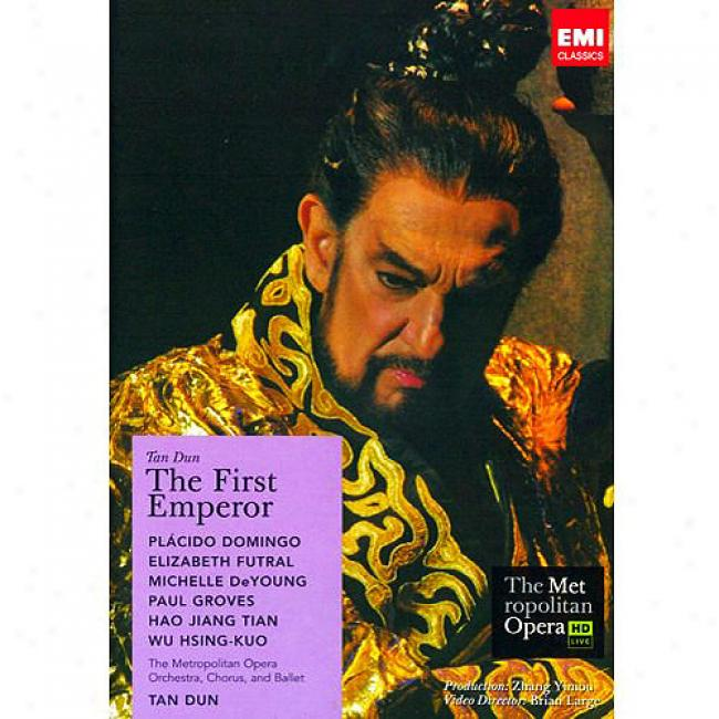 Tan-dun: The FirstE mperor (2 Discs Melody Dvd) (amaray Case)