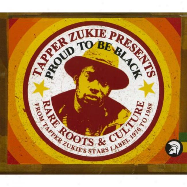 aTpper Zukie Presents: Proud To Be Black (cd Slipcase) (remaster)