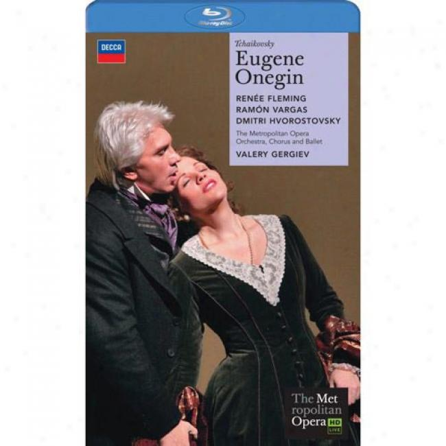 Tchaikovsky: Eugene Onegin (2 Disc Music Dvd) (amaray Case)