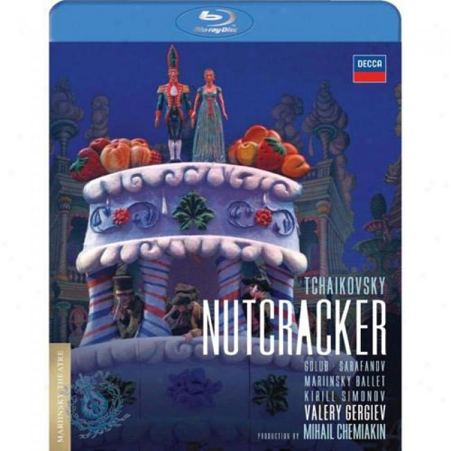 Tchaikovsky: Nutcracker (music Blu-ray) (bd Amaray Case)