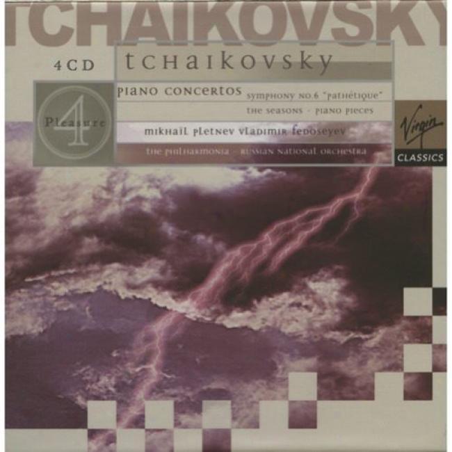 Tchaikovsky: Piano Concertos/symphony No.6