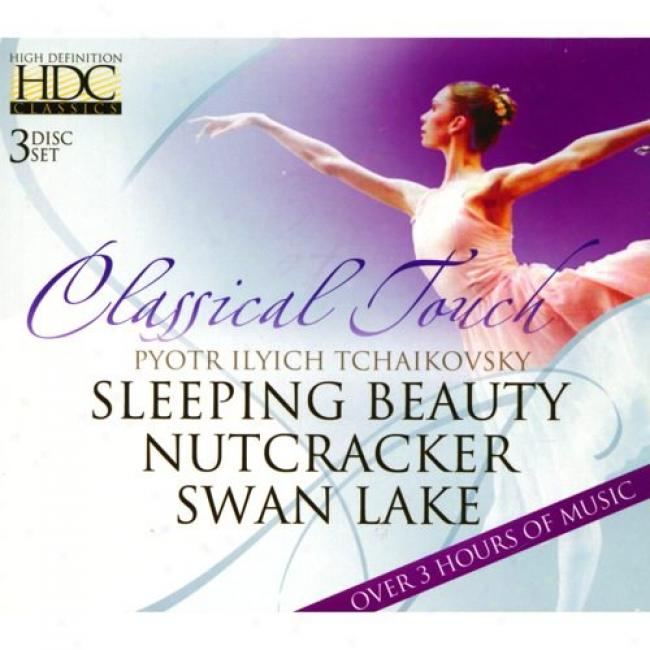 Tchaikovsky: Sleeping Beauty/nutcracker/qwan Lake (3cd) (cd Slipcase)
