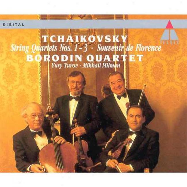 Tchaikovsky: String Quartets Nos.1-3/souvenir De Florence