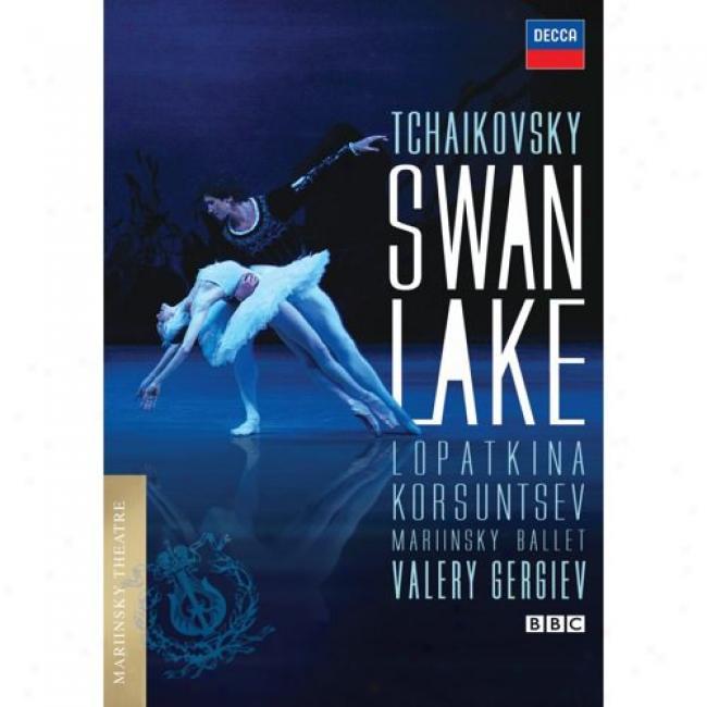 Tchaikovsly: Swan Lake (music Dvd) (amaray Case)