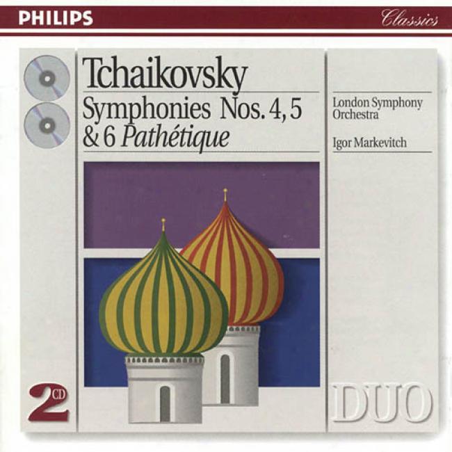 Tchaikovsky: Symphonies No.4-6 (2cd) (remaster)