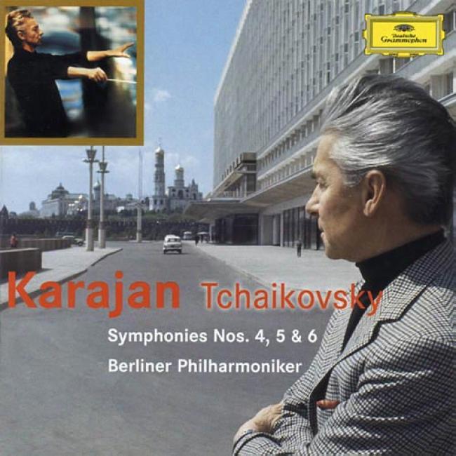 Tchaikovsky: Symphonies Nos.4, 5 & 6 (2cd) (remaster)