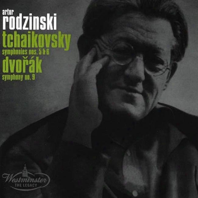 Tchaikovsky: Symphonies Nos.5 & 6/dvorak: Symphony No.9 (remaster)
