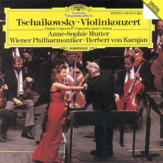Tchaikovsky: Violin Concerto/mutter, Karajan, Vienna Po
