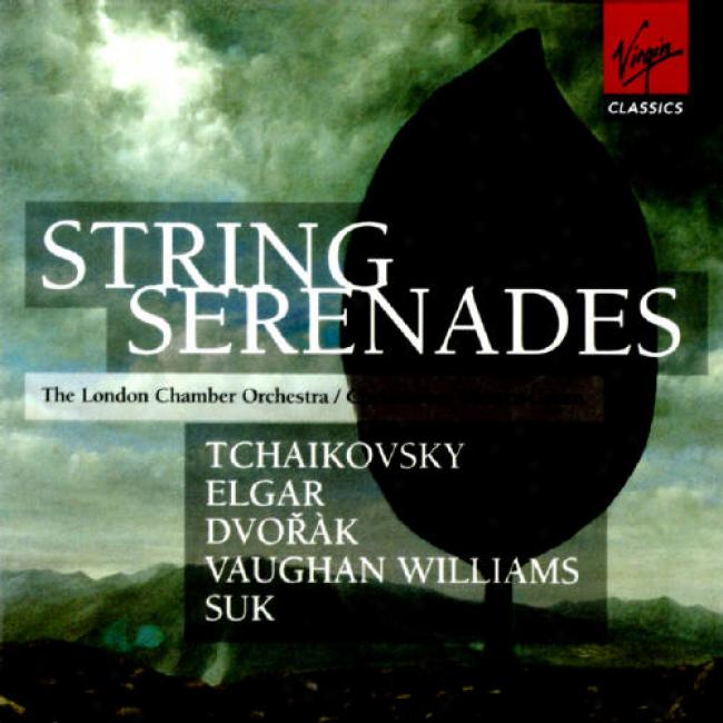 Tchsikovsky/elgar/dvorak/williams/suk: String Serenades (2cd)