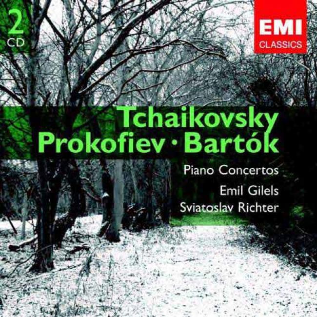 Tchaikovsky/prokofiev/bartok: Piano Concertos (2cd) (ermaster)