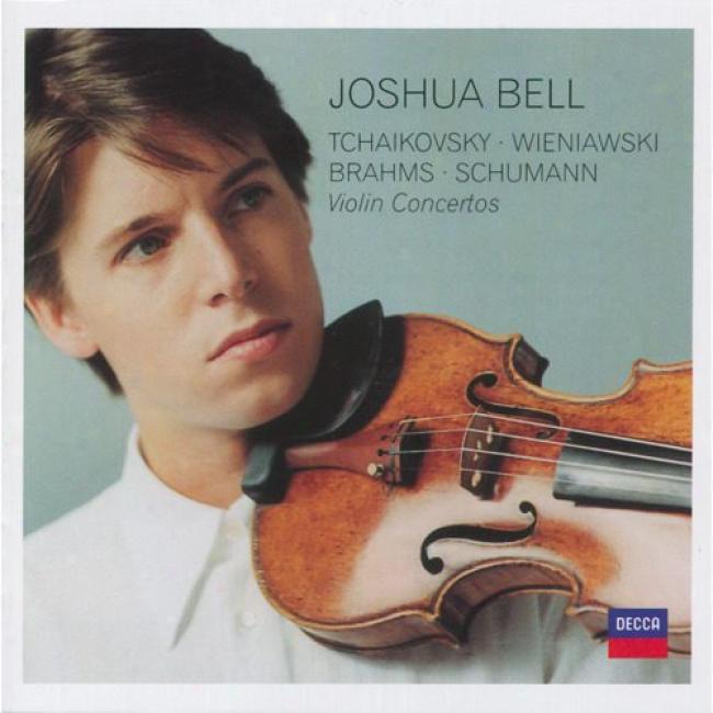 Tchaikovsky/wieniawski/brahms/schumann: Violin Cojcertos (2cd)