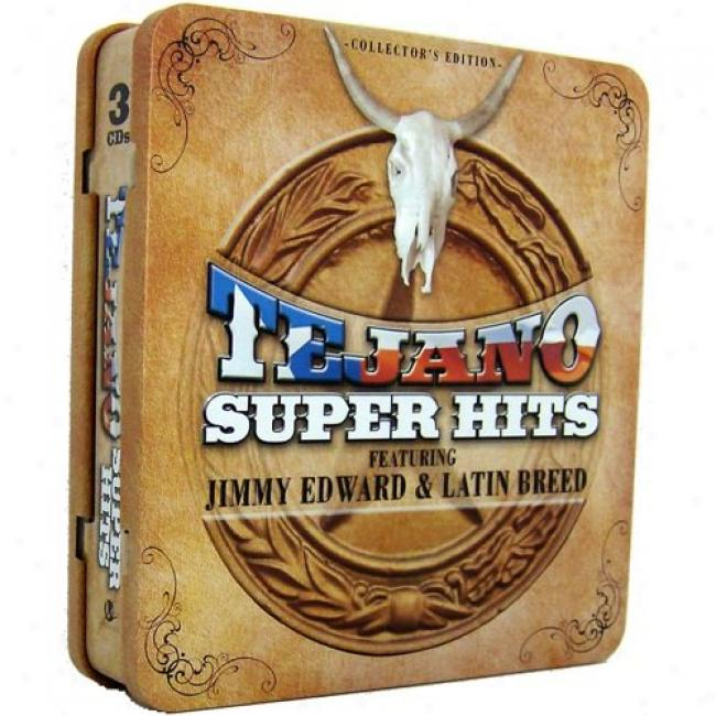 Tejano Super Hits (collector's Edition) (3 Disc Box Set)