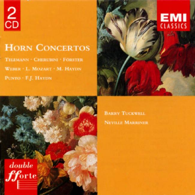 Telemann: Horn Concerto, Etc. (2cd) (remaster)