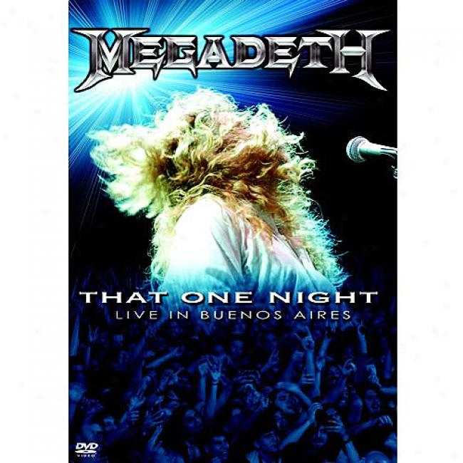 That One Night: Live In Buenos Aires (music Dvd) (amaray Case) (dvd S1ipcase)