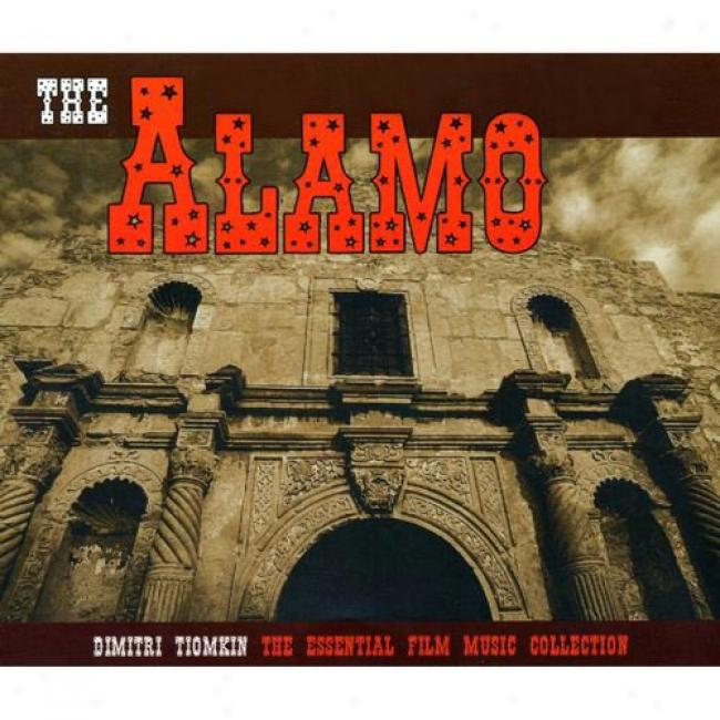 The Alamo: The Essentiai Dimitri Tomkin Film Music Collection (4cd) (cd Slipcase)