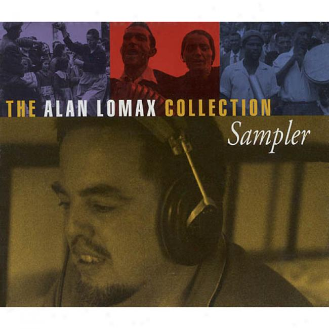 The Alan Lomax Assemblage Sampler (cd Slipcase)