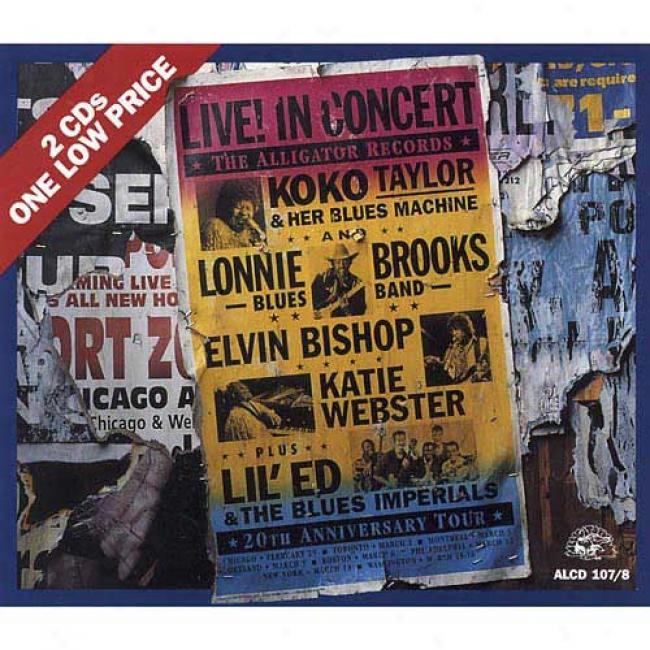 The Alligator Records 20th Anniversary Tour (2cd)
