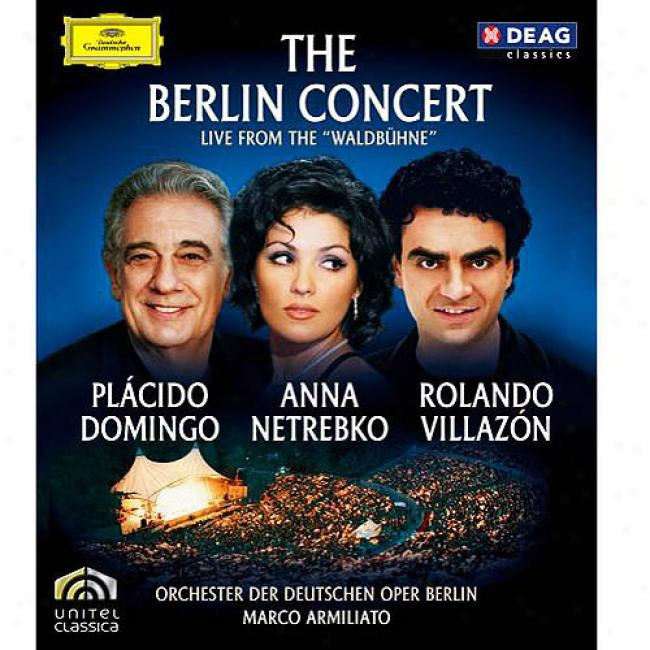 The Berlin Concert (music Blu-ray) (bd Amaray Case)