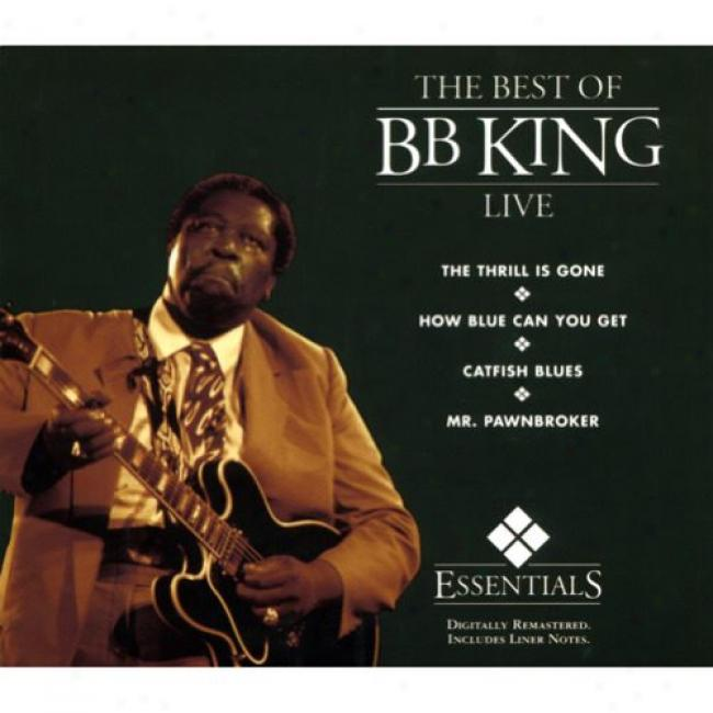 The Best Of B.b. King Live (digi-pak) (remaster)
