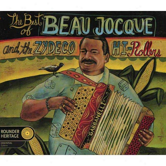 The Best Of Beau Jocue & The Zydeco Hi-rollers (digi-pak) (remaster)