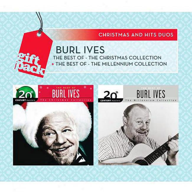 The Best Of Burl Ives: The Christmas Collection/the Millennium Collection (2 Disc Box Plant)