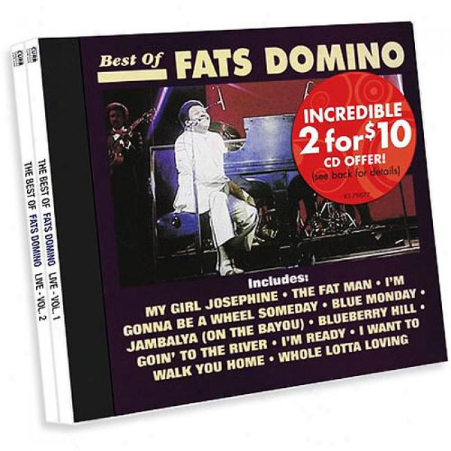 The Best Of Fats Domino Live, Vol.1 & 2 (2 Disc Box Set)