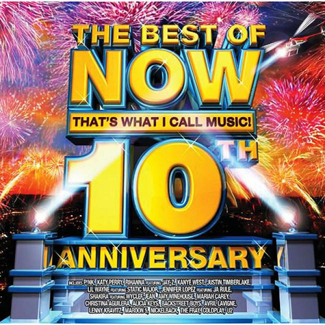 The Best Of Now That's What I Call Music!: 10th Anniversary