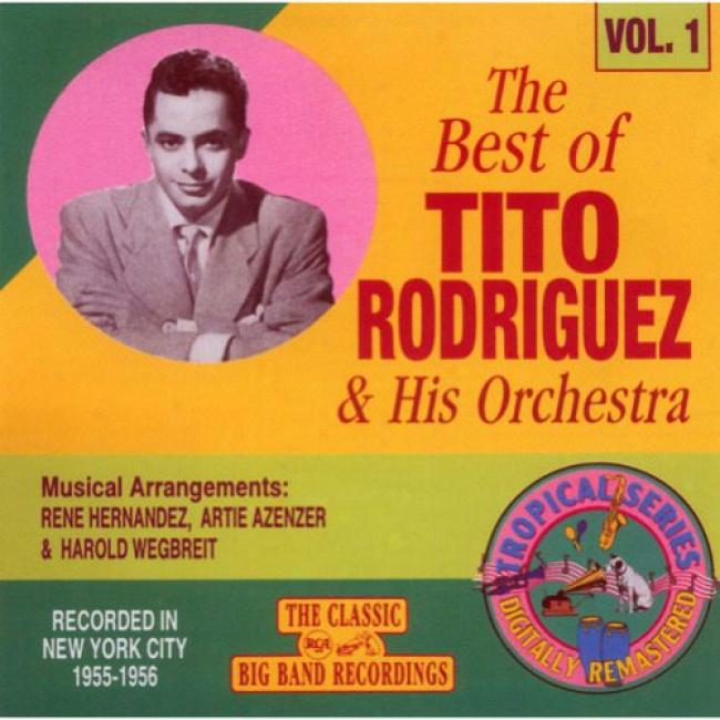 The Best Of Tito Rodriguez & His Orchestra, Vol.1 (remaster)