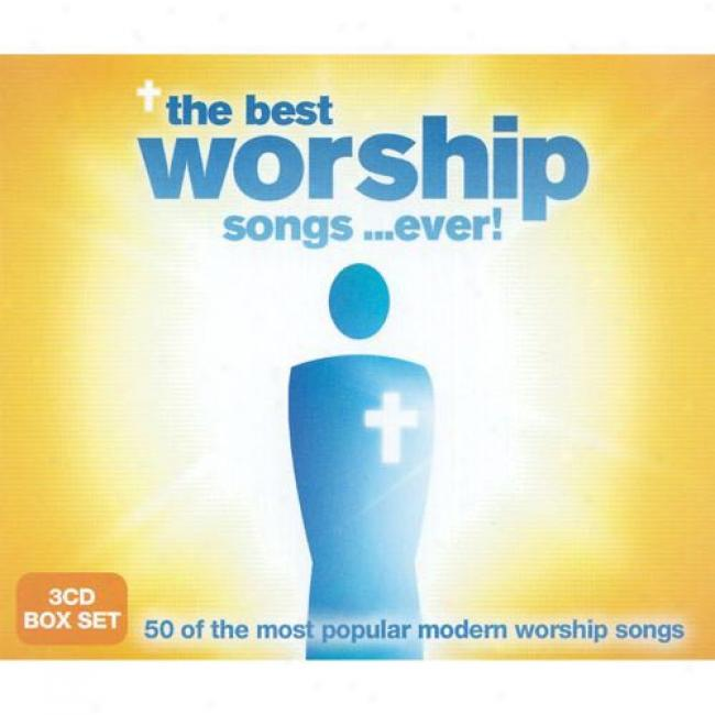 The Best Worship Songs...ever! (3 Disc Box Offer for sale)