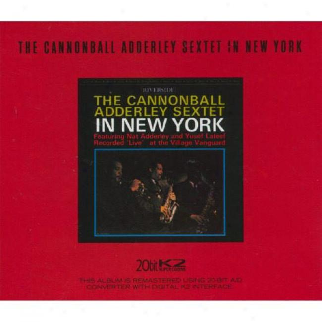 The Cannonball Adderley Sextet In New York (cd Slipcase) (remaster)
