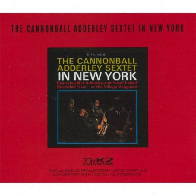 The Cannonball Adderley Sextet In New York (cd Slipcase) (remaster)