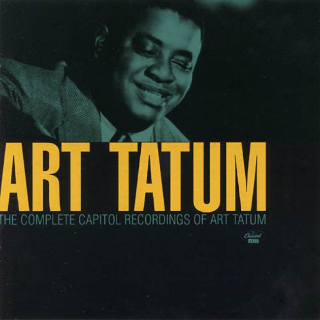 The Complete Capitol Recordings Of Art Tatum (2cd)
