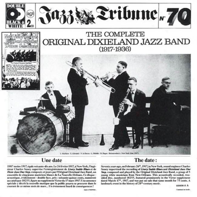 The Complete Original Dixieland Jazz Band (1917-1936) (2cd)