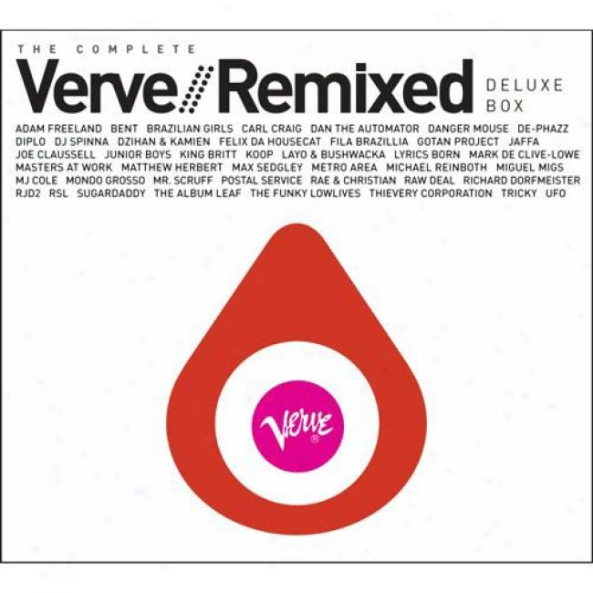 The Complete Verve Remixed (deluxe Edition) (4 Disc Box Set) (digi-pak