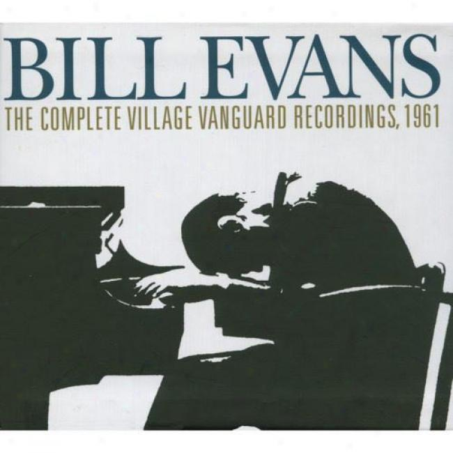 The Complete Village Vanguard Reclrdings, 1961 (3 Disc Box Set) (remaster)