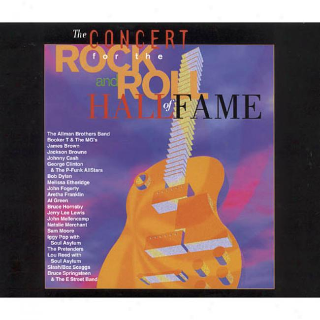 The Concert For The Rock And Roll Hall Of Fame (2cd)