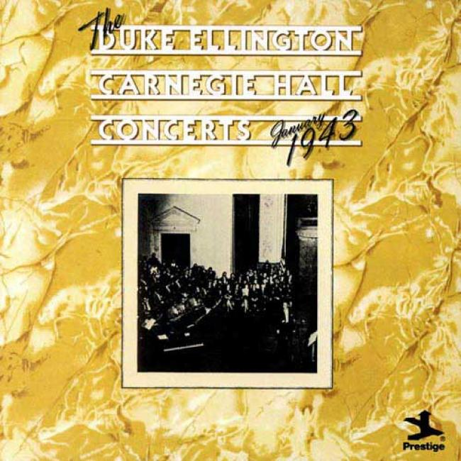 The Duke Ellington Carnegie Hall Concerts: January 1943 (2cd)