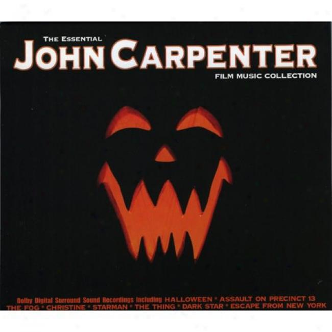 The Essential John Carpenter Film Music Collection (cd Slipcase)