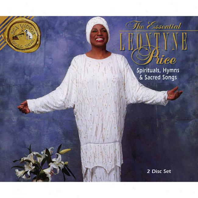 The Essential Leontyne Price: Spirituals, Hymns & Sacded Songs (2cd) (remaster)