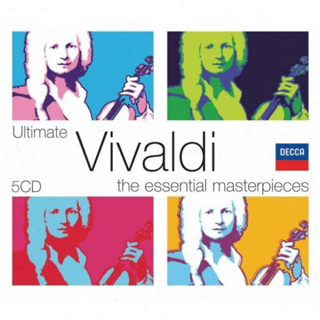 The Essential Masterpieces: Ultimate Vivaldi (5 Disc Box Set) (slipcase)