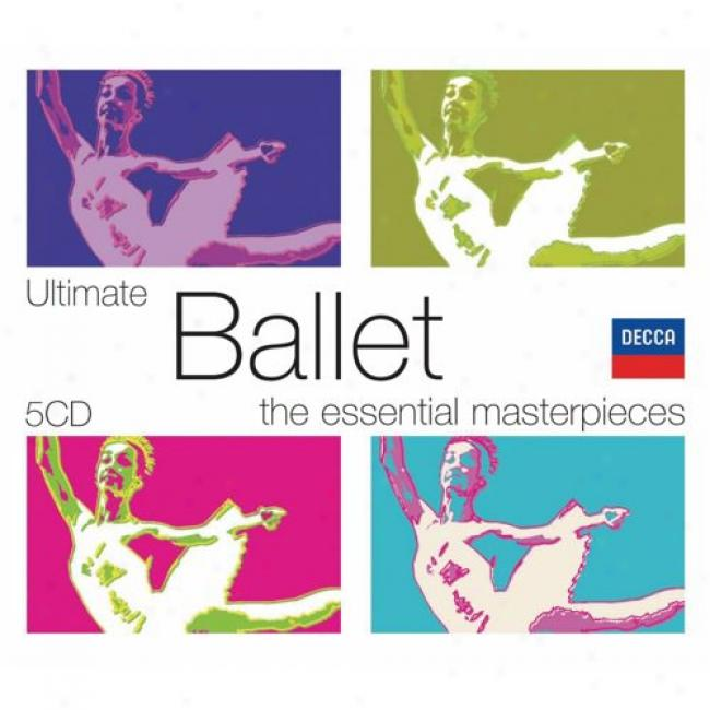 The Essential Masterpieces: Ultimate Ballet (5 Disc Box Set) (slipcase)