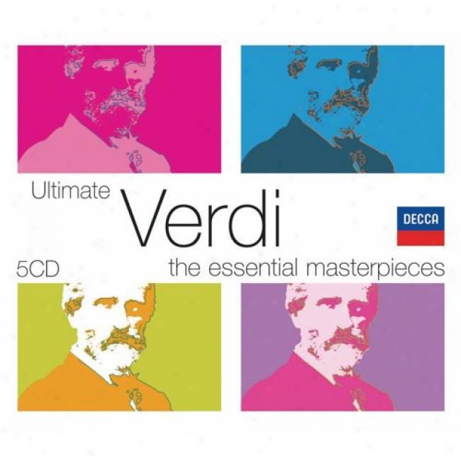 The Essential Masterpieces: Ultimate Verdi (5 Disc Box Set) (slipcase)