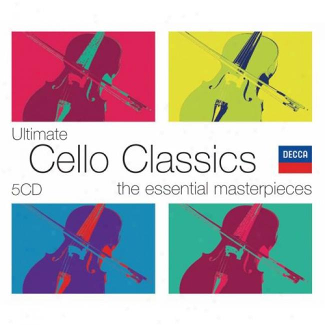 The Essential Masterpieces: Ultimate Cello Classics (5 Disc Box Set) (cd Slipcase)