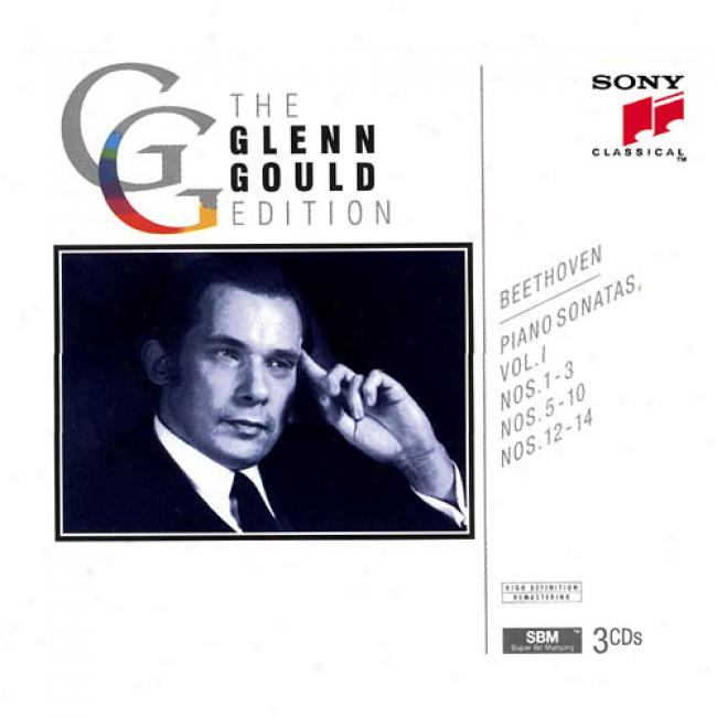 The Glenn Gould Edition: Beethkven - Piano Sonatas, Vol.1 (3cd) (remaster)