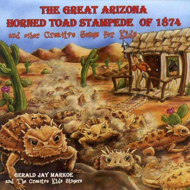 The Great Arizona Horned Toad Stampede Of 1874